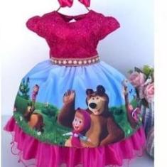Imagem de vestido marsha e o urso