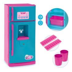 Imagem de Geladeira Infantil C/ Luz, Som E Acessórios Usual Brinquedos