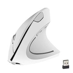 Imagem de Mouse Vertical,esign Ergonômico,(sem fio/com fio),Receptor ótico USB,Pilha AAA(Não contém)/Recarregável,Xiaomu
