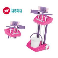Imagem de Kit Limpeza Infantil Brinquedo Educativo 3 anos Calesita