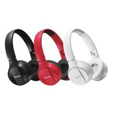 Headphone Bluetooth com Microfone Pioneer SE-MJ553 Dobrável