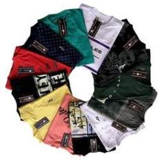 Imagem de Kit 12 Camisetas Masculinas Fio 30.1 Premium Old Rules Revenda
