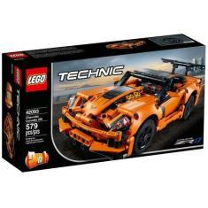 Imagem de LEGO Technic Chevrolet Corvette ZR1 - 579 Peças 42093