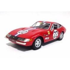 Imagem de Ferrari 365 Gtb4 Nº 22 1969  1:24 Burago Maisto