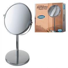 Imagem de Espelho Dupla Face Giratorio com Aumento de Ate 2 Vezes