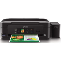 Impressora Multifuncional Epson Ecotank L455 Tanque de Tinta Colorida Sem Fio