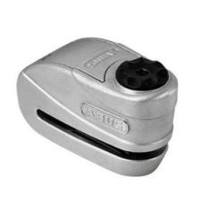 Trava De Disco C/ Alarme Abus Granit Detecto 8008 Prata 2.0
