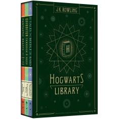 Box - Biblioteca Hogwarts – 3 Volumes - Rowling, J. K. - 9788532515704