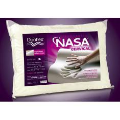 Imagem de Travesseiro NASA Viscoelástico - Cervical - Duoflex - 50 x 70 cm