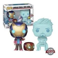 Imagem de Funko Pop! Marvel Avengers Endgame Morgan &Tony Stark Glows