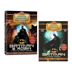 Imagem de Kit Box Batman O Homem Morcego Coleção Super Heróis Do Cinema 04 Discos