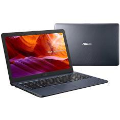 "Notebook Asus VivoBook X543UA-DM3459T Intel Core i3 7020U 15,6"" 4GB HD 256 GB Windows 10 Bluetooth"