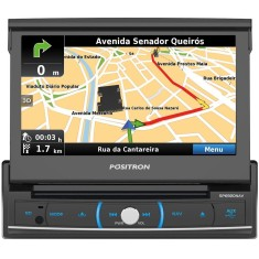 "DVD Player Automotivo Pósitron 7 "" SP6920 NAV Touchscreen Bluetooth"