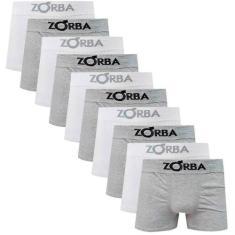 Imagem de Kit 10 Cuecas Boxer Sem Costura Zorba 781  e
