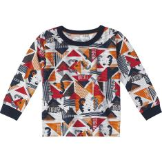Imagem de Camiseta manga Longa Tigor t. tigre laranja