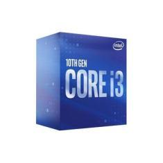 Processador Intel Core I3-10100 6mb 3.6ghz - 4.3ghz Lga 1200