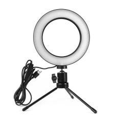 Imagem de Iluminador De Led Com Tripe Ring Light Usb 16cm 6 Polegadas