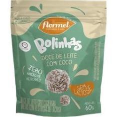 Bolinha de Doce de Leite Zero Lactose (60g) - Flormel