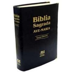 Bíblia Sagrada Ave-maria - Grande - Letra Grande - Ave Maria - 7898140424786