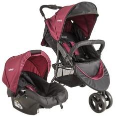 Carrinho de Bebê Travel System com Bebê Conforto Kiddo Whoop Trio 8004