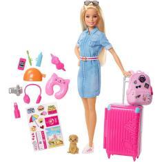 Imagem de Boneca Barbie Explorar E Descobrir Viajeira Mattel