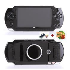 Imagem de Frete grátis console de jogos portátil tela de 4.3 polegadas, reprodutor mp4, mp5, suporte real de