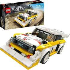 Imagem de Carro De Lego Audi Sport Quattro S1 Speed Champions Original