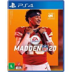 Jogo Madden NFL 20 PS4 EA