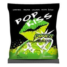 Imagem de Pacote Pirulito Pop Kiss Power Energético Com 50 Boavistense