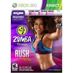 Jogo Zumba Fitness Rush Xbox 360 Majesco Entertainment