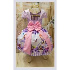 Imagem de Vestido Infantil tema Princesa Sofia Novo