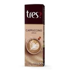 Imagem de CAPSULA CAFE CAPPUCCINO TRES AVELA 110g C/10 UNIDADES