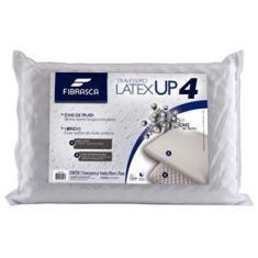 Imagem de Travesseiro Normal Latex Up4 Fibrasca 100% Poliuretano e 100% Poliéster 60x40x14 -