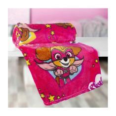 Imagem de Manta Infantil Fleece Patrulha Canina 125x150 Cm Lepper 57329
