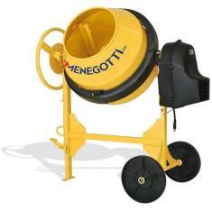 Imagem de Betoneira 120 litros com motor 1/2 hp monofásico e kit segurança - Prime - Menegotti