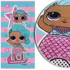 Imagem de Toalha Infantil Aveludada LOL Surprise Estampada -  Lilás - Toalha de Banho ou Praia - Lepper