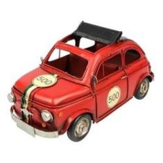 Imagem de Miniatura De Metal Retrô Fiat 500