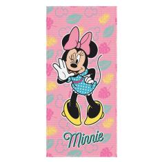 Imagem de Toalha de Banho Infatil Aveludada Minnie Mouse Lepper