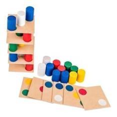 Imagem de Brinquedo Jogo Educativo Pedagógico Torre Inteligente Carlu