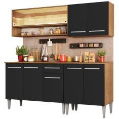 Imagem de Cozinha Compacta 1 Gaveta 9 Portas Emilly Dance Madesa
