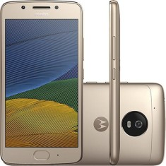 Smartphone Motorola Moto G G5 XT1672 32GB Qualcomm Snapdragon 430 13,0 MP 2 Chips Android 7.0 (Nougat) 3G 4G Wi-Fi
