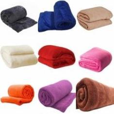 Imagem de Kit 03 Cobertor Coberta Manta Casal Microfibra Antialérgica