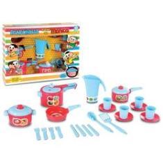 Imagem de Brinquedo Panelinhas Infantil Turma Da Mônica Cozinha Menina