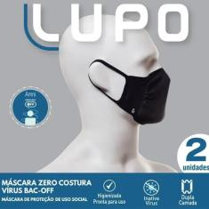 Imagem de Máscara Lupo  Kit com 2