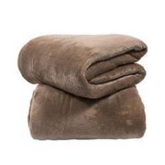 Imagem de Cobertor Manta Microfibra Casal Queen Tabaco - Le