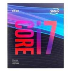 Processador Intel Core I7-9700f 3.0ghz Cache 12mb 8 Nucleos 8 Threads 9ª Geração Lga 1151 Bx80684i79