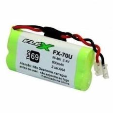 Bateria Telefone Sem Fio 2,4v 600mah Aaa Fx-70u