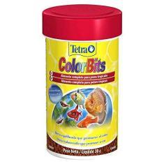 Imagem de Ração para Peixe Tetra ColorBits Granules 300gr