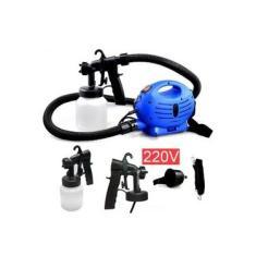 PISTOLA Elétrica de Pintura Pulverizador Compressor PAINT 650W - 220V