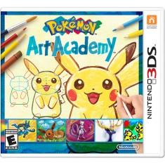 Jogo Pokemon Art Academy Nintendo 3DS